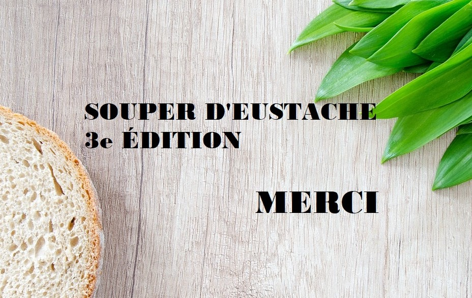 Souper d'Eustache 28-09-2018 - Merci